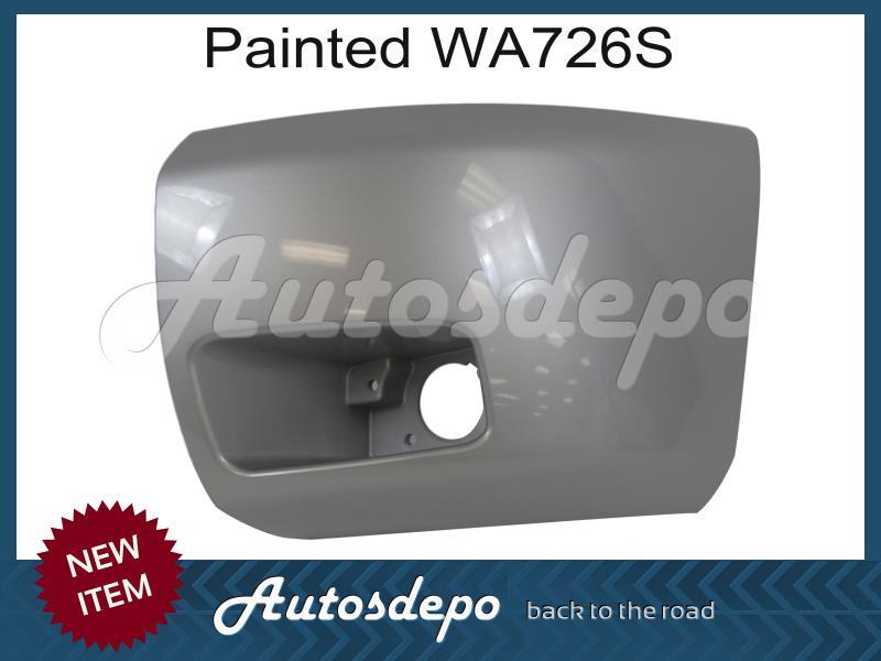 Painted WA726S Front Bumper End Cap Set w//Fog Hole For 2010-2011 Silverado 1500