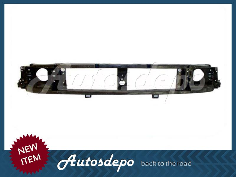 1997-2003 FORD F150 F250 LIGHT DUTY BLK GRILLE OPENING HEADER PANEL FO1220210