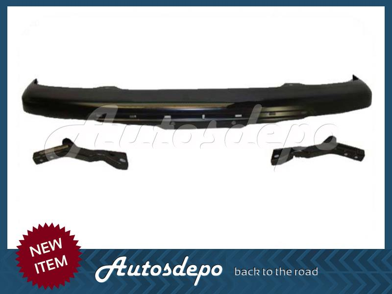 For 2004-2012 COLORADO FRONT BUMPER IMPACT BLK LOWER VALANCE BRACKET W//FOG HO 5P