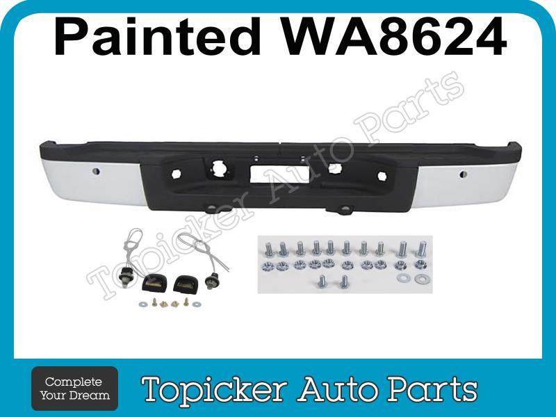 Rear Bumper Corner Reinforce Rh 07-13 Silverado 2500HD 3500HD Step Pad Insert