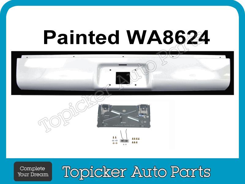 Roll Pan for Chevrolet Silverado P//U 07-13 Rear Fleetside W//License Part Single Box Package W//Hardware And